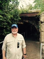 Mike at first Roman bridge in Israel